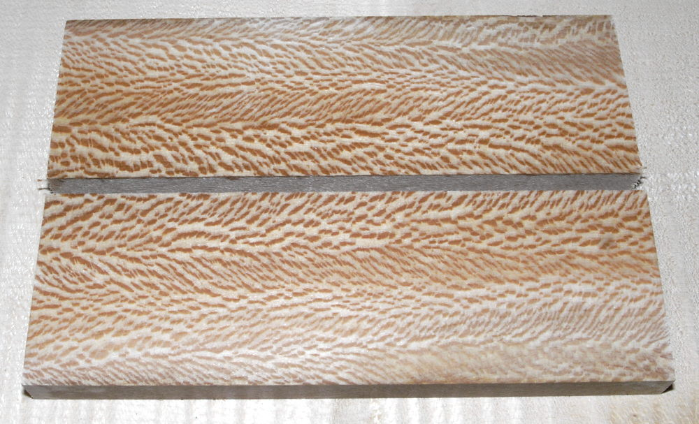Plane, Sycamore Knife Scales 120 x 40 x 10 mm