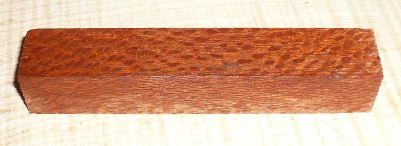 Perlholz Kulirohling Pen Blank 120 x 20 x 20 mm
