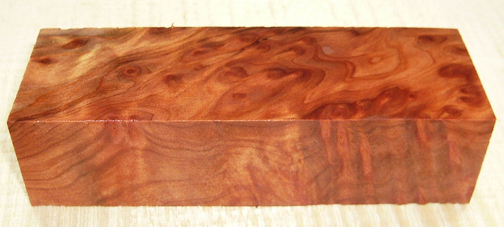 Redwood-Maser, Vavona Griffblock 120 x 40 x 30 mm