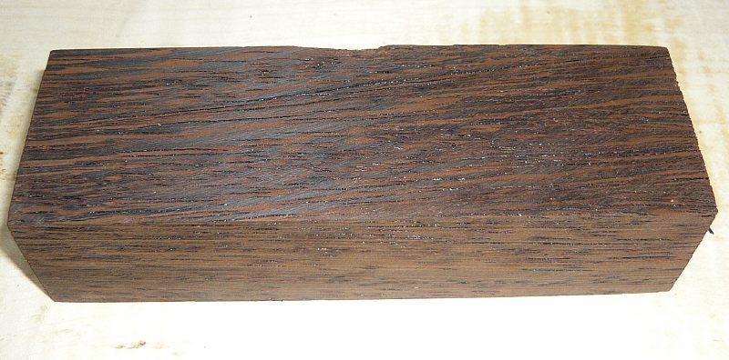 Wenge Knife Blank 120 x 40 x 30 mm