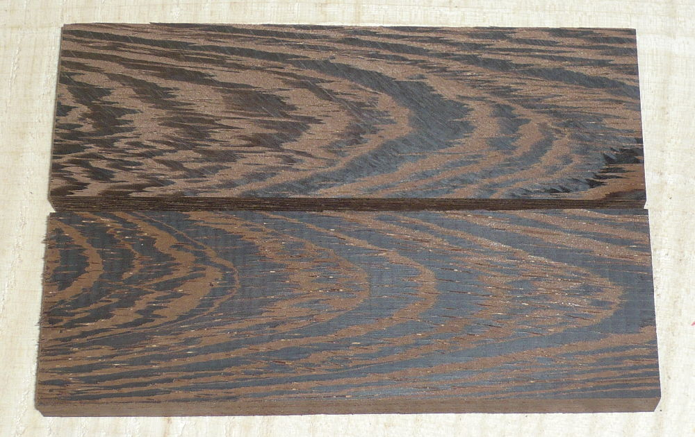 Wenge Knife Scales 120 x 40 x 10 mm