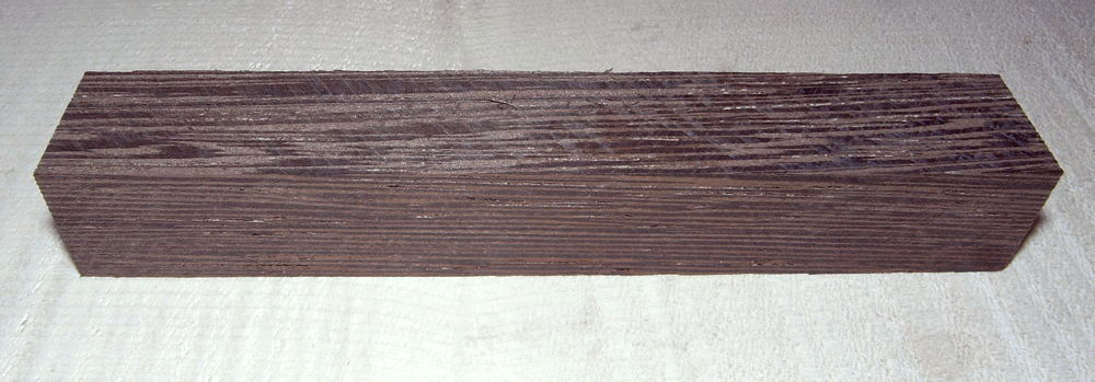 Wenge Pen Blank 120 x 20 x 20 mm