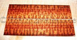 Schlangenholz Griffschalen f. Rasiermesser 150 x 39 x 4,5 mm