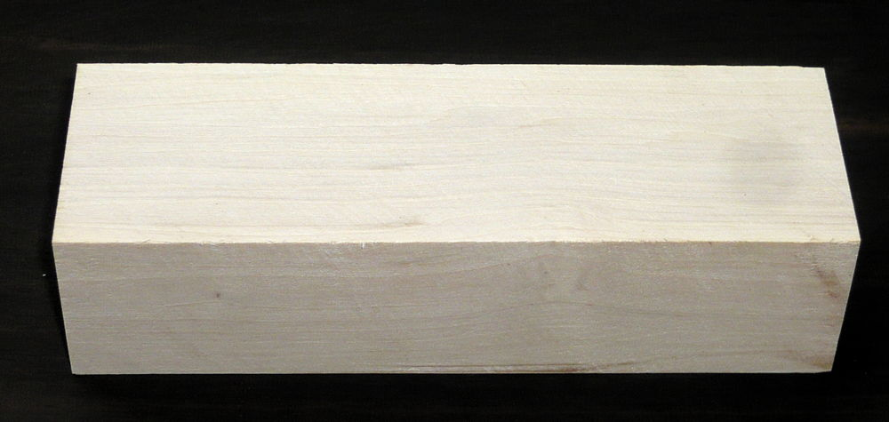 Hornbeam Knife Blank 120 x 40 x 30 mm