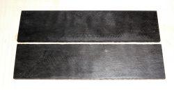 Ebenholz Griffschalen 140 x 40 x 4 mm