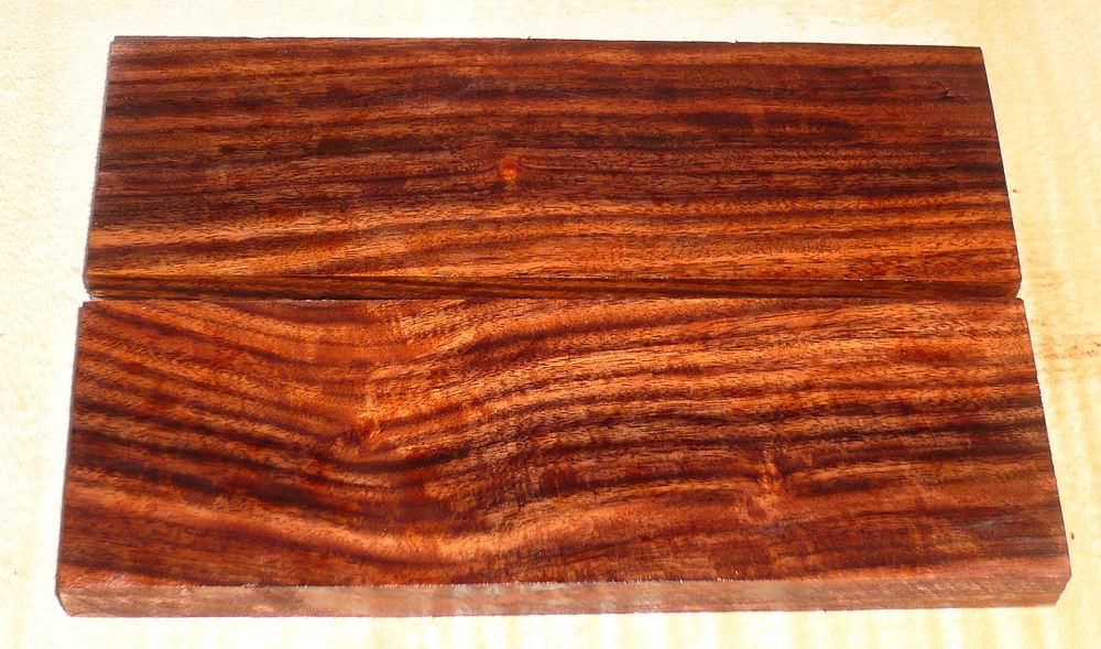 Pau Ferro, Santos Rosewood Knife Scales 120 x 40 x 10 mm