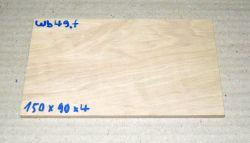 Wb049 Hornbeam 150 x 90 x 4 mm