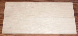 Weißbuche Rasierer-Griffschalen 140 x 40 x 4 mm