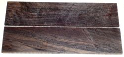African Blackwood Razor Scales 140 x 39 x 4 mm