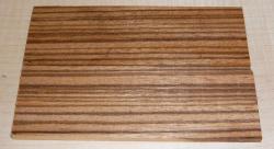 Zebrawood Razor Scales 140 x 40 x 4 mm
