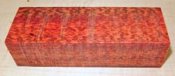 Snake Wood Knife Blank 120 x 39 x 30 mm