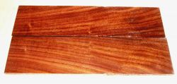 Pau Ferro, Santos-Palisander Rasierer-Griffschalen 140 x 40 x 4 mm
