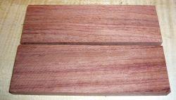 Bubinga Griffschalen 120 x 40 x 10 mm