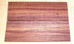 Königsholz, Veilchenholz Folder-Messergriffschalen 120 x 40 x 4 mm