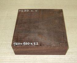 Gb029 Coraçao de Negro, Gombeira 160 x 160 x 52 mm