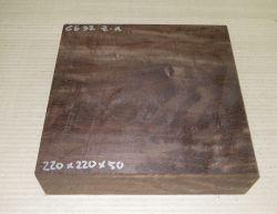 Gb032 Coraçao de Negro, Gombeira 220 x 220 x 50 mm