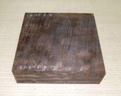 Gb035 Coraçao de Negro, Gombeira Bowl Blank 180 x 180 x 52 mm