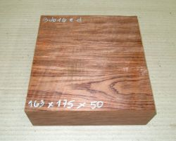 Bub016 Bubinga 163 x 175 x 50 mm