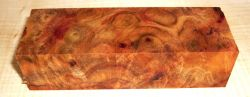Camphor Burl Knife Block 120 x 40 x 30 mm