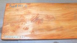 RueA901 Antikes Ulmenholz, Rüster Möbelteil Massivholz 720 x 140 x 25 mm