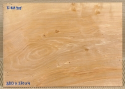 BikA905 Birch Saw Cut Veneer antique 380 x 270 x 4 mm