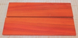 Peroba Rosa, Salmon Wood Folder, Straight Razor Scales140 x 40 x 4 mm
