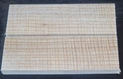 Zürgelbaum Zürgelholz Griffschalenpaar 120 x 40 x 10 mm