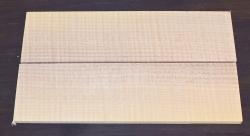 Zürgelbaum Zürgelholz Folder-Griffschalen 140 x 40 x 4 mm