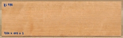 Ki190 Cherry Wood Saw Cut Veneer 400 x 115 x 3 mm