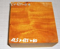 Cv125-6 Paela, Chakte Viga Schalenrohling Block 125 x 125 x 60 mm