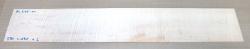 Ah665 Fiddleback Maple, Curly Maple Saw Cut Veneer 830 x 135 x 2 mm
