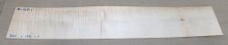 Ah668 Fiddleback Maple, Curly Maple Saw Cut Veneer 830 x 150 x 1 mm