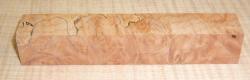 Oregon Maple Burl Pen Blank 120 x 20 x 20 mm