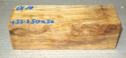 Ol010 Wild-Olivenholzkantel 155 x 50 x 50 mm