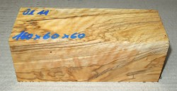 Ol011 Wild-Olivenholzkantel 155 x 60 x 60 mm