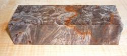 Buckeye Burl Stabilized Knife Block 120 x 40 x 30 mm