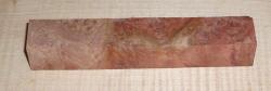 Red Mallee Burl Pen Blank 120 x 20 x 20 mm