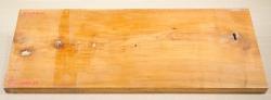 Ki518 Antique Biedermeier Solid Cherry Wood Panel  540 x 205 x 25 mm