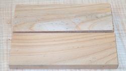 Zypresse, Mittelmeer-Zypresse Griffschalen 120 x 40 x 10 mm
