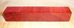 Blutholz, rotes Satinholz Crosscut Pen Blank 120 x 20 x 20 mm