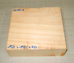 Ze014-5 Echte Libanon-Zeder, Libanon Zedernholz 140 x 140 x 50 mm