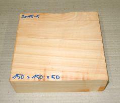 Ze015-6 Echte Libanon-Zeder, Libanon Zedernholz 150 x 150 x 60 mm