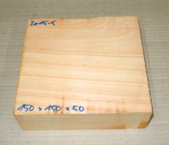 Ze016-6 Echte Libanon-Zeder, Libanon Zedernholz 150 x 150 x 60 mm