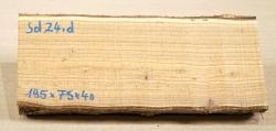 Sd024 Sea-Buckthorn Log Cutoff 195 x 75 x 40 mm