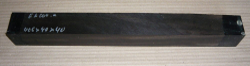 Eb004 Ebony Blank 405 x 40 x 40 mm