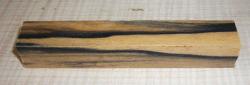 Ebenholz Schwarz-weiß Pen Blank hell sortiert 120 x 20 x 20 mm