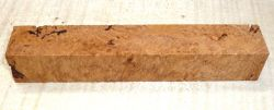 Maple Burl Pen Blank 120 x 20 x 20 mm