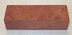 Walnut Burl Black Walnut Knife Blank 120 x 40 x 30 mm