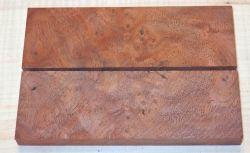 Walnut Burl, Black Walnut Knife Scales 120 x 40 x 10 mm