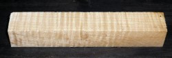 Fiddleback Maple, Curly Maple Pen Blank 120 x 20 x 20 mm